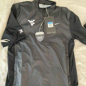 NIKE WVU tee shirt rain jacket ✔️🏌🏼♂️